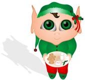 Biscotti per Santa royalty illustrazione gratis