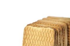 Biscotti quadrati Immagini Stock Libere da Diritti