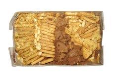 Biscotti rotti Fotografie Stock Libere da Diritti