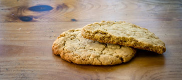 Biscotti saporiti Immagine Stock Libera da Diritti