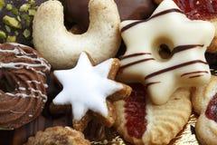 Biscotti saporiti differenti immagine stock libera da diritti