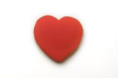 Biscotti sotto forma di un cuore Fotografia Stock