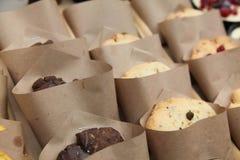 Biscotti su esposizione immagine stock