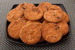 Biscotti su un piatto Immagini Stock