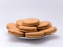Biscotti su una zolla Fotografie Stock Libere da Diritti