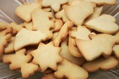 Biscotti su una zolla Immagine Stock