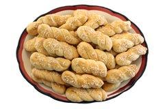 Biscotti sulla zolla Immagine Stock
