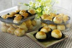 Biscotti tradizionali per Idul Fitri immagini stock