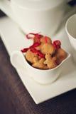 Biscotti in una tazza Fotografia Stock