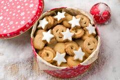 Biscotti in uno stagno Fotografia Stock