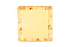 Biscotto con formaggio Fotografia Stock