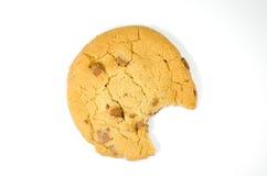 Biscotto con il morso immagine stock libera da diritti