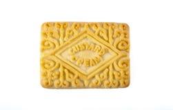 Biscotto crema della crema Fotografie Stock
