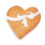 Biscotto del biglietto di S. Valentino fotografie stock libere da diritti