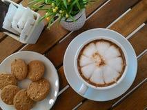 biscotto del caffè Immagini Stock