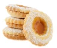 Biscotto del centro Immagini Stock