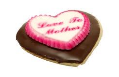 Biscotto del cuore fotografia stock