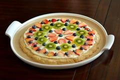 Biscotto del dessert della frutta Fotografia Stock