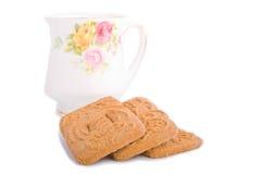 Biscotto del dutch di Speculaas Fotografia Stock