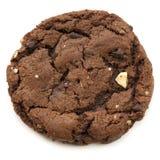 Biscotto del fondente di cioccolato fotografie stock