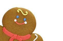 Biscotto del pan di zenzero fotografie stock