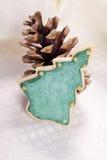 Biscotto dell'albero di Natale Immagini Stock Libere da Diritti