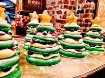 Biscotto dell'albero di Natale Fotografia Stock Libera da Diritti