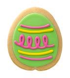 Biscotto dell'uovo di Pasqua Fotografie Stock Libere da Diritti