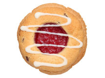 Biscotto della fragola Fotografia Stock