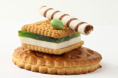 Biscotto della gelatina Immagini Stock