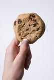 Biscotto della holding della mano Fotografie Stock