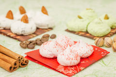 Biscotto della meringa Fotografie Stock