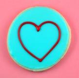 Biscotto di amore Fotografia Stock Libera da Diritti