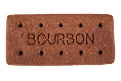 Biscotto di Bourbon Immagine Stock Libera da Diritti