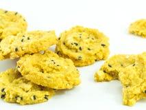 Biscotto di farina d'avena Immagini Stock