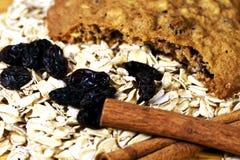 Biscotto di farina d'avena Fotografia Stock