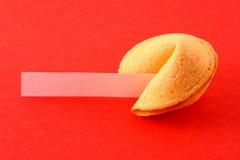Biscotto di fortuna Fotografia Stock