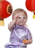 Biscotto di fortuna cinese Fotografia Stock Libera da Diritti