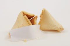 Biscotto di fortuna cinese Fotografie Stock