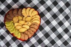 Biscotto di Hearte Immagine Stock Libera da Diritti