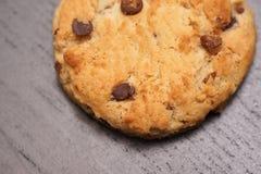 Biscotto di pepita di cioccolato Immagini Stock Libere da Diritti