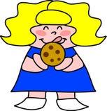 Biscotto di pepita di cioccolato royalty illustrazione gratis