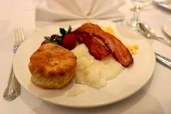 Biscotto e sabbie del sud della prima colazione Immagini Stock Libere da Diritti