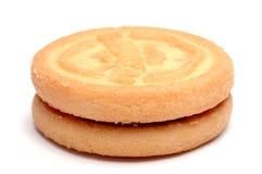 Biscotto isolato Immagini Stock