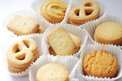 Biscotto o biscotto immagini stock libere da diritti