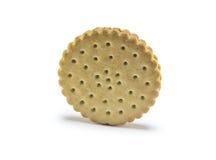 Biscotto su bianco Immagini Stock