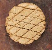 Biscuit à l'avoine de Rye images libres de droits