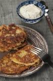 Biscuit à l'avoine de zuccini de moelle /courgette photo stock