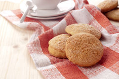 Biscuit. Traditional sardinian biscuit with sugar Stock Photo