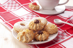 Biscuit. Traditional homemade cookies of Sardinia Royalty Free Stock Photography